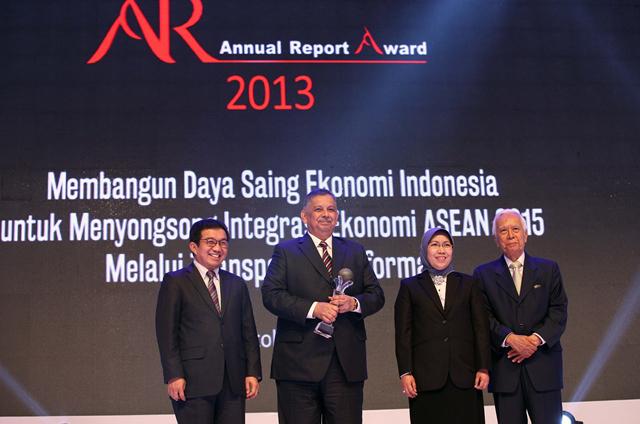 BRI wins Annual Report Award 2013