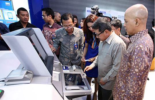 BRI launched its first E-Banking Hybrid Lounge in Indonesia