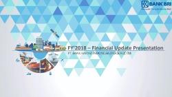 Full Year 2018 Financial Update Presentation